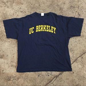 VINTAGE UNIVERSITY OF CALIFORNIA BERKLEY T SHIRT